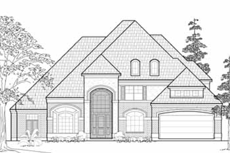 Traditional Exterior - Front Elevation Plan #61-164
