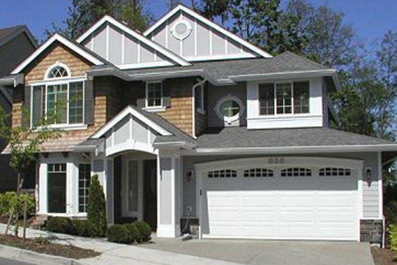 Craftsman Exterior - Front Elevation Plan #132-219