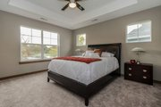Traditional Style House Plan - 6 Beds 4 Baths 3172 Sq/Ft Plan #70-1474 Interior - Master Bedroom