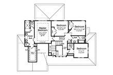 Farmhouse Floor Plan - Upper Floor Plan Plan #46-884