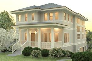 Craftsman Exterior - Front Elevation Plan #926-3