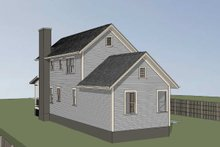 Dream House Plan - Country Exterior - Other Elevation Plan #79-270