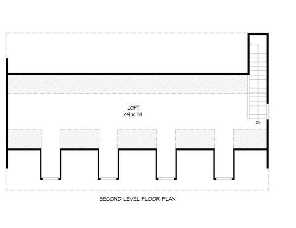 Country Floor Plan - Upper Floor Plan Plan #932-266