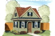 European Style House Plan - 0 Beds 0 Baths 225 Sq/Ft Plan #455-30 Exterior - Front Elevation