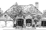 Colonial Style House Plan - 4 Beds 2.5 Baths 2280 Sq/Ft Plan #310-715 Exterior - Front Elevation