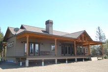 Craftsman Exterior - Rear Elevation Plan #895-19