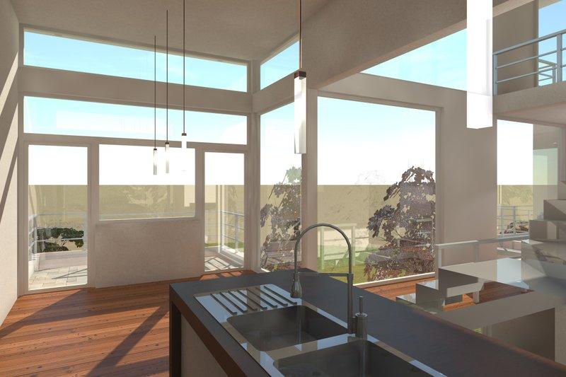 Modern Interior - Kitchen Plan #64-219 - Houseplans.com
