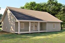 House Plan Design - Southern Exterior - Rear Elevation Plan #44-252
