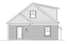 Dream House Plan - Cottage Exterior - Rear Elevation Plan #932-24