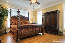 House Plan Design - European Interior - Master Bedroom Plan #929-34