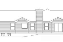House Design - Traditional Exterior - Rear Elevation Plan #22-521