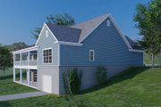 Traditional Style House Plan - 3 Beds 3.5 Baths 2088 Sq/Ft Plan #923-177 Exterior - Other Elevation