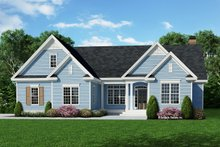 Home Plan - Ranch Exterior - Front Elevation Plan #929-514