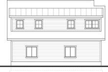 House Design - Craftsman Exterior - Rear Elevation Plan #1073-10