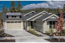 House Plan Design - Ranch Exterior - Front Elevation Plan #895-90