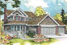 Farmhouse Exterior - Front Elevation Plan #124-419