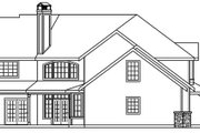 Craftsman Style House Plan - 4 Beds 3.5 Baths 3031 Sq/Ft Plan #124-507 Exterior - Other Elevation