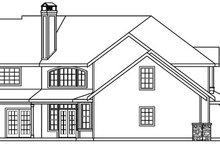 Craftsman Exterior - Other Elevation Plan #124-507
