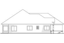 Home Plan - Left Elevation