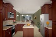 Country Style House Plan - 3 Beds 2.5 Baths 2008 Sq/Ft Plan #21-188 Photo