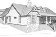 Cabin Style House Plan - 4 Beds 3.5 Baths 3348 Sq/Ft Plan #123-113 Exterior - Other Elevation