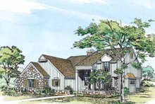House Blueprint - Craftsman Exterior - Other Elevation Plan #72-125