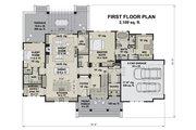 Farmhouse Style House Plan - 4 Beds 3.5 Baths 2655 Sq/Ft Plan #51-1163 Floor Plan - Main Floor