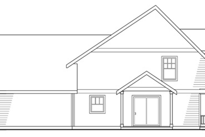 Craftsman Exterior - Other Elevation Plan #124-204 - Houseplans.com