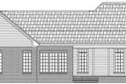 Traditional Style House Plan - 3 Beds 2.5 Baths 2005 Sq/Ft Plan #21-180 Exterior - Rear Elevation