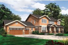 Dream House Plan - Craftsman Exterior - Front Elevation Plan #48-249