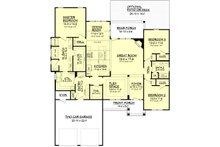 Country Floor Plan - Main Floor Plan Plan #430-91