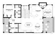 Bungalow Style House Plan - 3 Beds 3 Baths 2175 Sq/Ft Plan #928-9 Floor Plan - Main Floor Plan