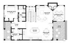 Bungalow Floor Plan - Main Floor Plan Plan #928-9