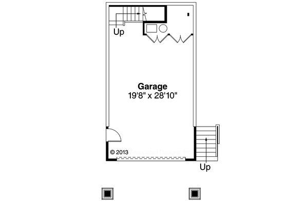 Country Floor Plan - Lower Floor Plan Plan #124-917