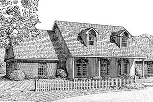 Farmhouse Exterior - Front Elevation Plan #11-110