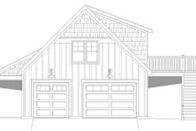 Country Exterior - Other Elevation Plan #932-91