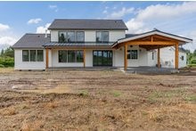 House Plan Design - Farmhouse Exterior - Other Elevation Plan #1070-39