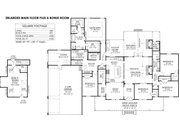 Farmhouse Style House Plan - 5 Beds 3.5 Baths 2705 Sq/Ft Plan #1074-5