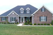 European Style House Plan - 5 Beds 4 Baths 2875 Sq/Ft Plan #17-2167 Exterior - Front Elevation