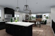 Ranch Style House Plan - 2 Beds 2 Baths 1801 Sq/Ft Plan #1060-40 Interior - Kitchen