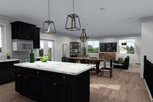 Ranch Interior - Kitchen Plan #1060-40
