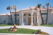 Mediterranean Style House Plan - 5 Beds 5 Baths 4301 Sq/Ft Plan #1-913