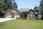 European Style House Plan - 3 Beds 2 Baths 2000 Sq/Ft Plan #430-73 Exterior - Front Elevation
