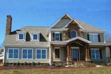 Dream House Plan - Craftsman Exterior - Front Elevation Plan #437-46
