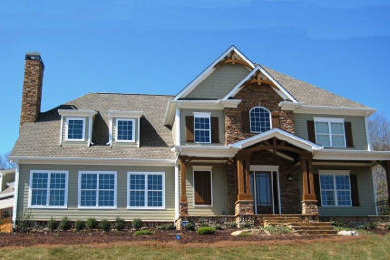 House Plan Design - Craftsman Exterior - Front Elevation Plan #437-46
