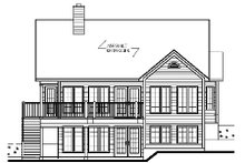 House Design - Traditional Exterior - Other Elevation Plan #23-454