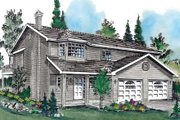 Traditional Style House Plan - 4 Beds 2 Baths 1440 Sq/Ft Plan #18-9231 Exterior - Front Elevation