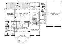 Traditional Floor Plan - Main Floor Plan Plan #137-292