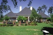 European Style House Plan - 4 Beds 4.5 Baths 3038 Sq/Ft Plan #45-333 Exterior - Other Elevation