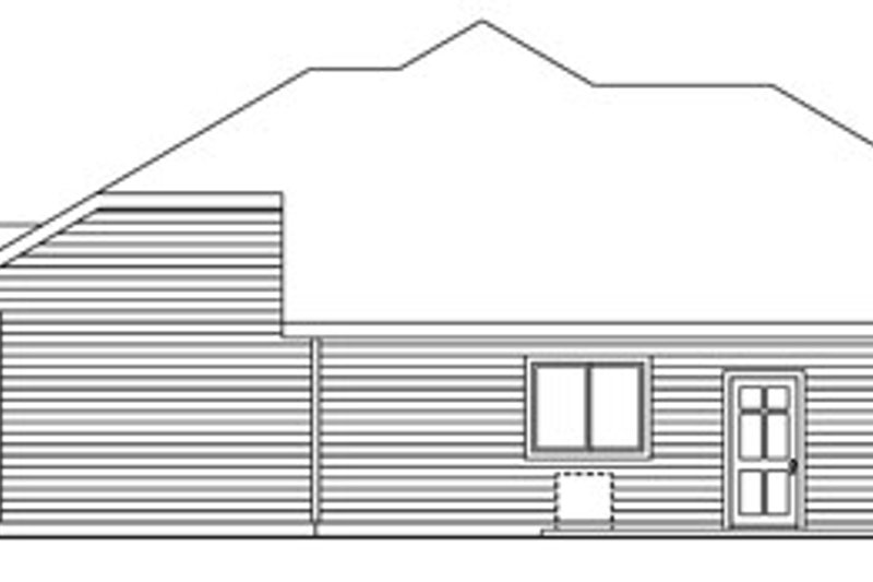 Craftsman Exterior - Other Elevation Plan #124-773 - Houseplans.com